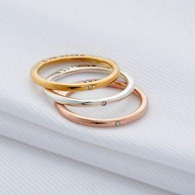 Personalised Proposal Diamond Rings