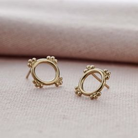 Crown Stud Earrings