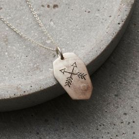 Personalised Men's Cherokee Necklace