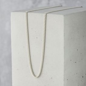 Men's Sterling Silver Curb Chain
