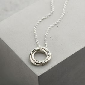 Personalised Men's Russian Ring Necklace
