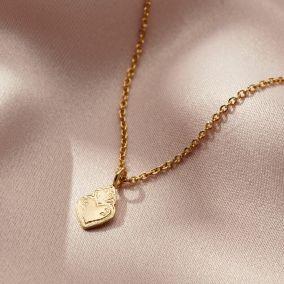 Mini Sacred Heart Charm Bracelet