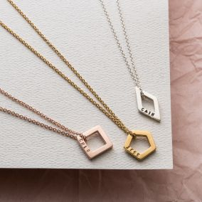 Personalised Bridesmaid Necklace Giftbox