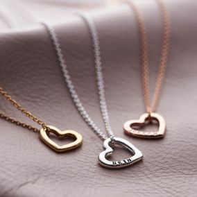 Personalised Mini Love Heart Necklace
