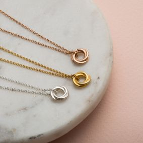 Petite Russian Ring Necklace