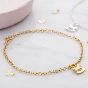Personalised Petite Rockinghorse Charity Bracelet