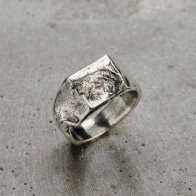 Molton Chunky Men's Signet Ring