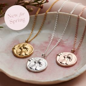 Mother Nature Personalised Disc Necklace