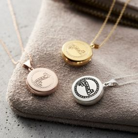 Small 'Mummy' Locket Necklace