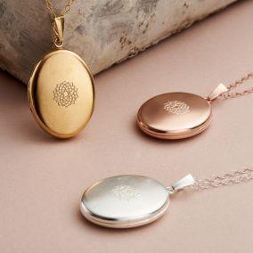 Large Chakra Locket Necklace