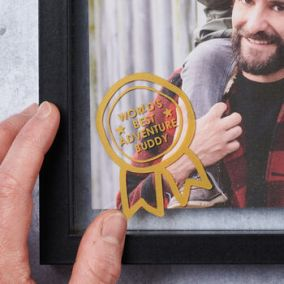 Personalised World's Best Dad Award Photo Frame