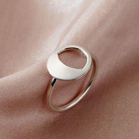 Personalised Large Moonshine Ring