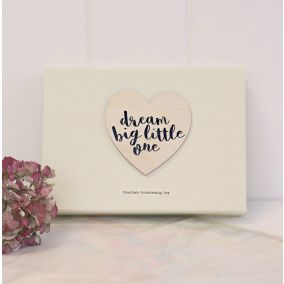 Personalised 'Dream Big' Christening Keepsake Box