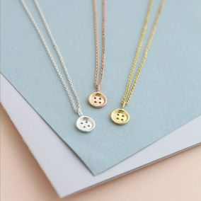 Christening Card & Necklace Set