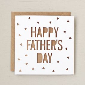 Father's Day Papercut Cards