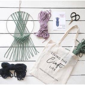 Macrame Wreath Craft Kit