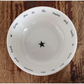To The Moon And Back Porcelain Trinket Dish