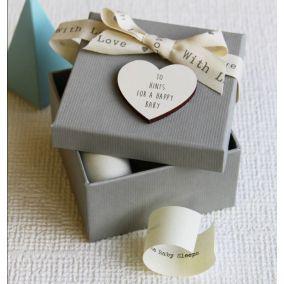 Personalised '10 Secrets To Surviving Parenthood' Box