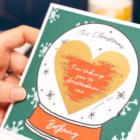 Personalised Christmas Scratch Card