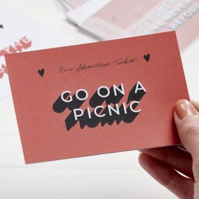 Personalised Couple's Adventure Tickets