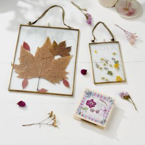 Personalised Flower Press And Frame Craft Kit