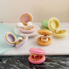 Personalised Macaron Wedding Favour