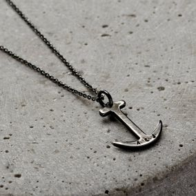 Men's Personalised Anchor Necklace