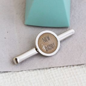 Personalised Daddy Tie Clip