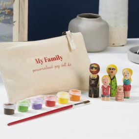 Peg Doll Family Craft Kit