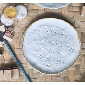 Personalised Pinch Pot Craft Kit