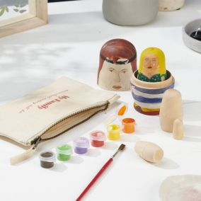 Russian Doll Family Craft Kit