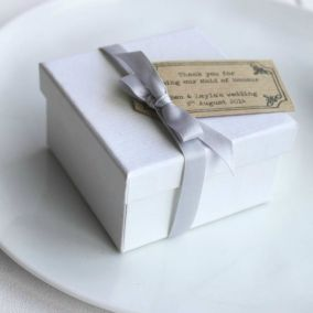 Personalised Thank You Maid Of Honour Box