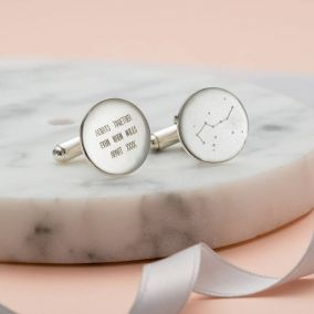 Personalised Constellation Cufflinks