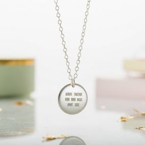 Personalised Travel Necklace