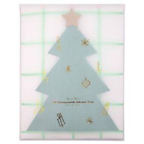 Pop Up Honeycomb Tree Advent Calendar