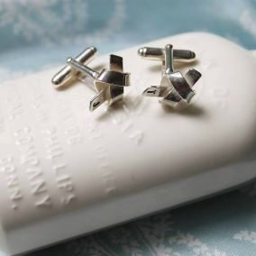 Personalised Tie The Knot Cufflinks