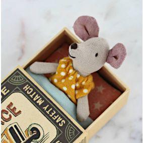 Vintage Style Matchbox Mouse