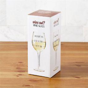 Wine Lovers Wine Glass