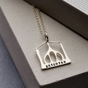 Personalised Brighton Royal Pavilion Necklace