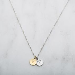 Personalised Aries Zodiac Charm Necklace