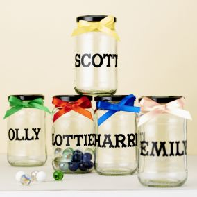 Personalised Marble Reward Jar