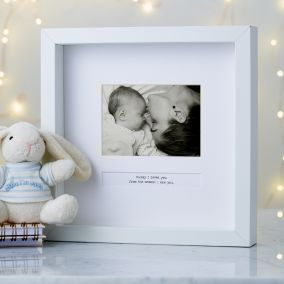 Personalised 'A Special Moment' Photo Frame