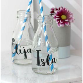Personalised Monogrammed Milk Bottle