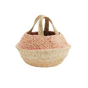 Small Hemp Storage Basket