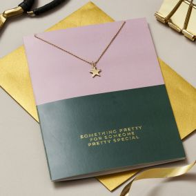Someone Pretty Special Card & Necklace Set
