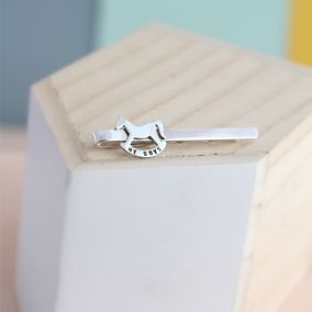 Personalised Rockinghorse Charity Tie Clip