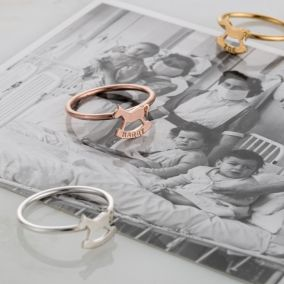 Personalised Rockinghorse Charity Ring