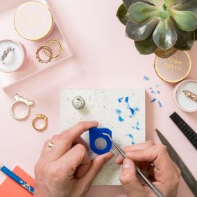 Personalised Silver Ring Making Workshop at West Elm