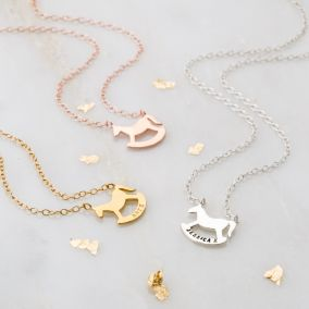 Personalised Rockinghorse Charity Necklace
