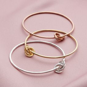Personalised Russian Ring Charm Bangle